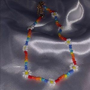 🌸 Flower bead choker 🌸